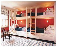 Like the wall sconces inside the bunks