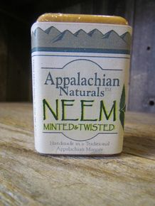 Our Neem Minted and Twisted Soap is amazing! Natural Insect Repellent and great for psoriasis, eczema, and acne!