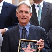 Actor Mark Harmon of NCIS is honored with the 2,482nd star on the Hollywood Walk of Fame on October 1, 2012 in Hollywood, California.