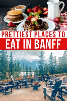 food tips Heading to Banff? Get the guide to BEST places to eat in Banff for every meal, occasion and budget. This is your one stop where to eat in Banff planner! Best Places To Eat, The Places Youll Go, Places To Travel, Travel Destinations, Travel Tips, Alberta Canada, Banff Canada, Banff Alberta, Quebec