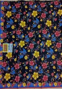 Kain Batik Pekalongan HM-010-Biru-Hitam