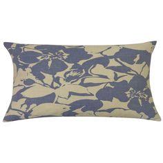 Peony Indigo 12x20-inch Pillow
