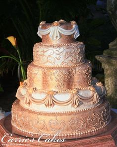 This would be pretty for a Golden Anniversary (I think it's Gold) ~ Margarita  - #798