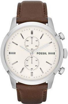 Мужские наручные часы Fossil FS4865 с хронографом