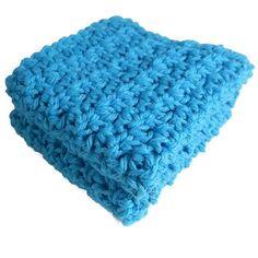 Crochet Dishcloth Washcloth Set of 2 Cotton by SimpleLuxuriesNC