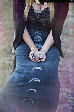 my Dark Moonrise Skirt is featured in the new mystic moon lookbook from The Bohemian Collective along with many many beautiful things…...