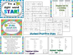 Sight Words and Thinking Maps!