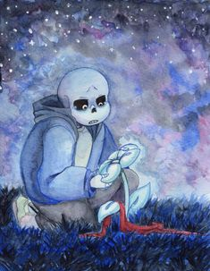 I've been staring at the edge of the water, long as I can remember,.never really knowing why. Undertale Game, Undertale Comic, Frisk, Sans Papyrus, Rpg Maker, 2nd Anniversary, Fan Art, Best Games, Skeleton