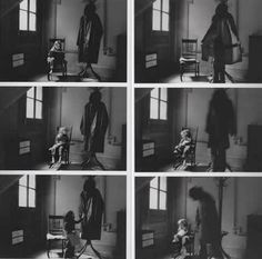 Duane Michals 'Bogeyman'... loved it so much I made my own version at college.