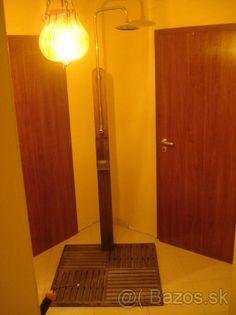 Záhradná sprcha z teakového dreva - 1