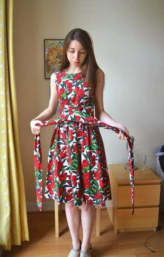 Simplicity 1419 with a wrap waist