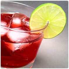 The ride out drink!-Disaronno & Cranberry Cocktail