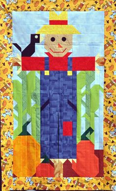 Here is my adorable scarecrow wall hanging perfect for this time of year.
