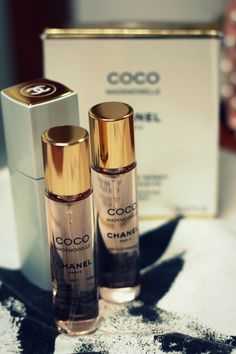 Coco Mademoiselle Chanel - Twist and Spray Perfume // by anna goerner