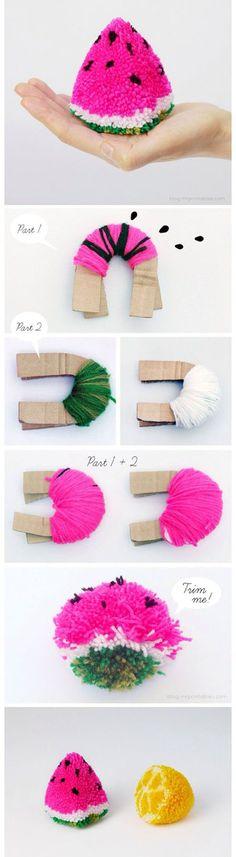 Pompones   DIY & Crafts Tutorials