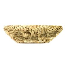 Stylish Palmerie product category is available in the kitchen, tabletop and storage products. Use of examples: Bread basket, storage basket Application examples: kitchen, bedroom, bathroom facilities    Made of: Palm Made in Morocco    Product Dimensions:  - Diameter 20- 25cm  - Height n.7cm