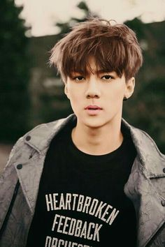 Image discovered by 박승리. Find images and videos about kpop, exo and sehun on We Heart It - the app to get lost in what you love. Btob, K Pop, Baekhyun Chanyeol, 2ne1, Kpop Love, Exo Teaser, Kai, Rapper, Luhan And Kris