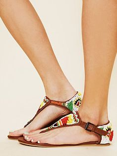 free people beaded sandals