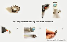 Feathers feathers feathers... check out the DIY! By @The Mora Smoothie