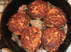 Southern Salmon Patties Recipe Instead of breadcrumbs I will use Parmesan,no other cheese and then some old bay