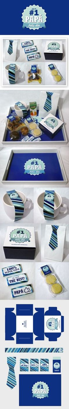 Packaging Dia del Padre on Behance