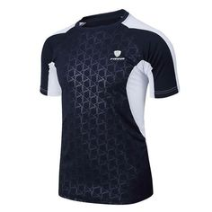 Cheap summer style sport t shirt men lingsai 2016 new brand sales camisas quick dry slim fit running t-shirt men's clothing camisetas sale online Badminton, T Shirt Top, Shirt Men, Mma Clothing, Estilo Fitness, Tennis Shirts, Streetwear, Athleisure Outfits, High Quality T Shirts