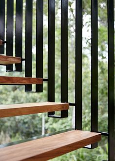 Looking for concrete stairs design and trends? Access a gallery of concrete staircase photos from top outdoor designers. Contemporary Stairs, Modern Stairs, Architecture Details, Interior Architecture, Escalier Design, Stair Handrail, Railings, Stair Detail, Interior Stairs