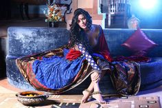 Poonam Pandey Latest Hot Photoshoot In Saree High Quality Wallpapers (5 Pics)
