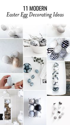 These 11 modern Easter egg decorating ideas are so easy and. Informations About 11 Modern Easter . Egg Crafts, Crafts To Do, Bunny Crafts, Diy Osterschmuck, Easter Crafts For Adults, Easter Ideas, Easter Table Decorations, Easter Centerpiece, Thanksgiving Decorations