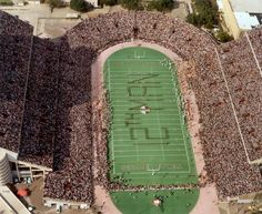 The Fightin' Texas Aggie Band spells 12th Man in 1984!