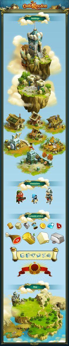 Castle Kingdom on Behance: