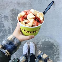 When your body has had enough holiday junk and just needs some vitamin filled fuel, grab an Acai or Pitaya Bowl from Juice It Up! So delicious AND nutritious!