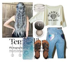 """""""A tale of a tail"""" by izzy181-1 ❤ liked on Polyvore featuring Hedi Slimane, The Ragged Priest, Billabong, Chantecaille, Casetify, Doris Panos and Charlotte Russe"""