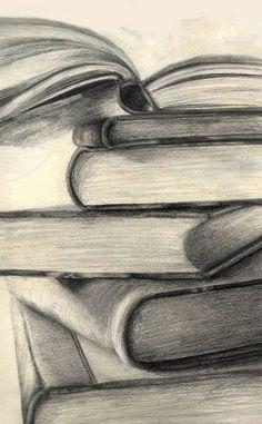 Bildergebnis für easy pencil drawings - - Frisuren Tips Easy Pencil Drawings, Art Drawings Sketches, Cool Drawings, Pencil Sketching, Pencil Sketches Simple, Pencil Drawing Images, Value Drawing, Art Du Croquis, Simple Subject