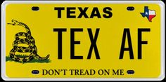 Between July 1, 2016 and Sept. 30, 2016, the Texas Department of Motor Vehicles rejected 513 licence plates. Photo: Texas Department Of Motor Vehicles
