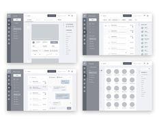 jpg by Bagus Fikri Wireframe Web, Wireframe Design, Design Ios, Dashboard Design, Website Wireframe, Flat Design, Print Design, Design Thinking, Motion Design
