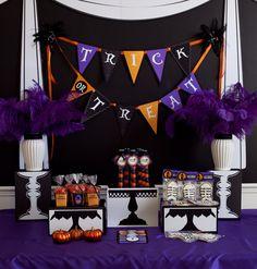 Halloween Black Cat Ball Printable Party as por FrogPrincePaperie
