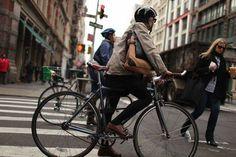Bike commuters
