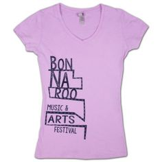 Bonnaroo 2014 Women's Stairs V-Neck T-Shirt