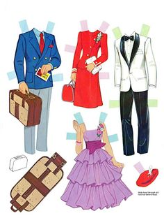 Paper Dolls~Bride and Groom - Bonnie Jones - Picasa Web Albums