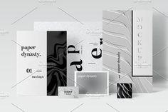 Paper Dynasty-Branding Mockups by Design Love Shop on @creativemarket