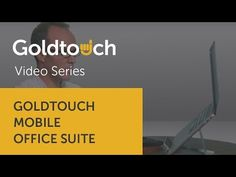 The New Simple: The Goldtouch Mobile Office Suite #goldtouch
