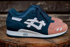 RF x ASICS Gel Lyte III 'Salmon Toe' | Shoes | Kith NYC