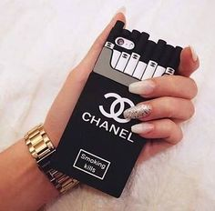 Silicone Case Chanl Cigar Idr.100  Type : Iphone 5/5S Iphone 6/6S Iphone 6/6S Samsung J5 Samsung S5 Samsung S6 edge Samsung Prime . . #samsungcase #iphonecase #caseiphone #case #casing #casemurah #jualancase #iphone6 #iphone6case #samsungj5 #j5case #samsungs5 #samsungs6edge #samsungprime #samsunggrandprime #grandprime by warungcasinghp