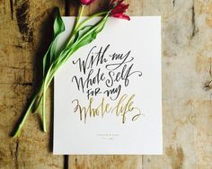 A modern hand-lettering pioneer, Lindsay Letters Studio offers foil ART PRINTS and heirloom-quality CANVASES with meaningful phrases and abstract art. Canvas Signs, Canvas Frame, Lindsay Letters, Heart Painting, Beautiful Wedding Invitations, Wedding Stationery, Foil Art, Wedding Prints, Youre Invited