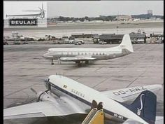 London Heathrow Airport 1960, from the Beulah footage library, via A60Stock on YouTube. More splendidly awkward dialogue.