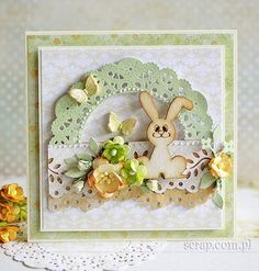 Easter Projects, Square Card, I Card, Scrapbooking, Paper, Frame, Handmade, Card Ideas, Anna