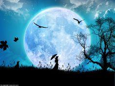 La luna y el nivel del Ser.