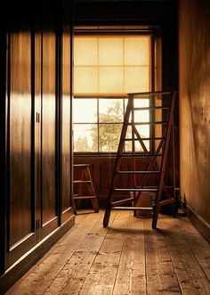 interior. old, old ladder, interior scene. photography by Stuart Murphy