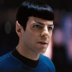 Spock. Zachary Quinto. Either. Both. 'Nuff said.